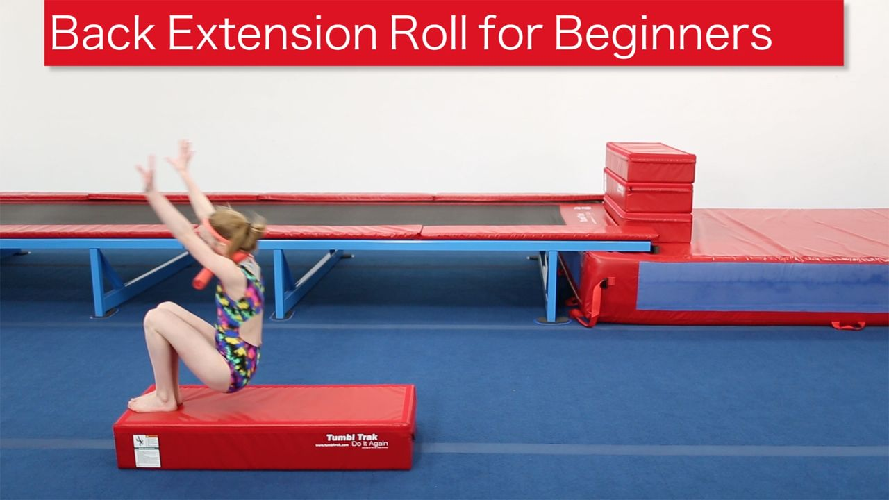 Play Video - Back Extension Roll Drill for Beginners