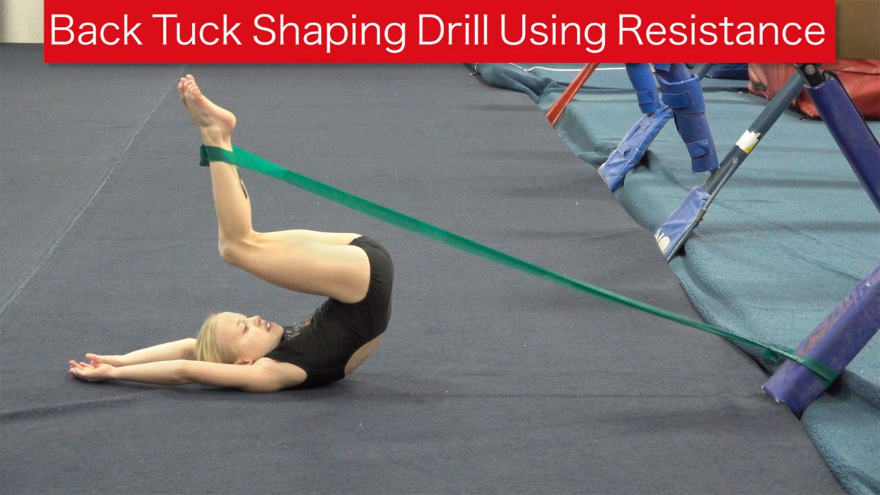 Play Video - Back Tuck Shaping Using Resistance
