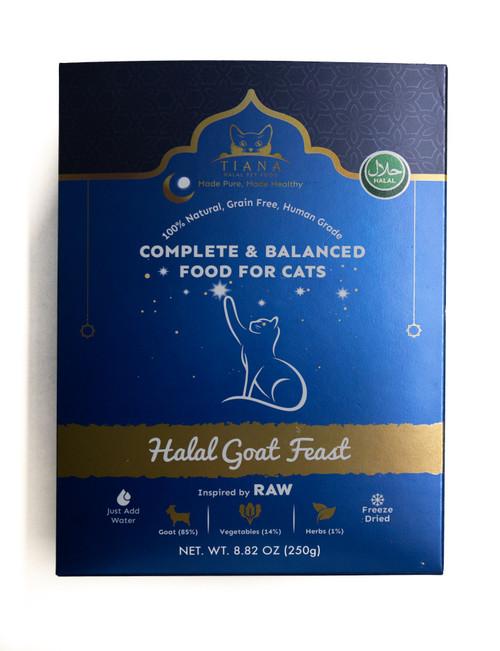 Halal Cat Food Goat Feast