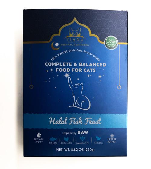 Tiana Halal Cat Food - Fish Feast