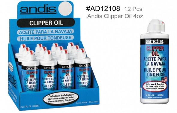 Andis Clipper Oil 12 Pcs