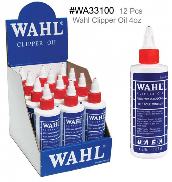 Wahl Clipper Oil 12 Pcs