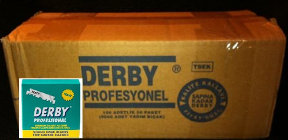 Derby Single Edge Razor Blades 5000