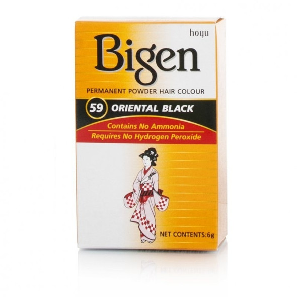 Bigen Oriental Black Hair Colour #59