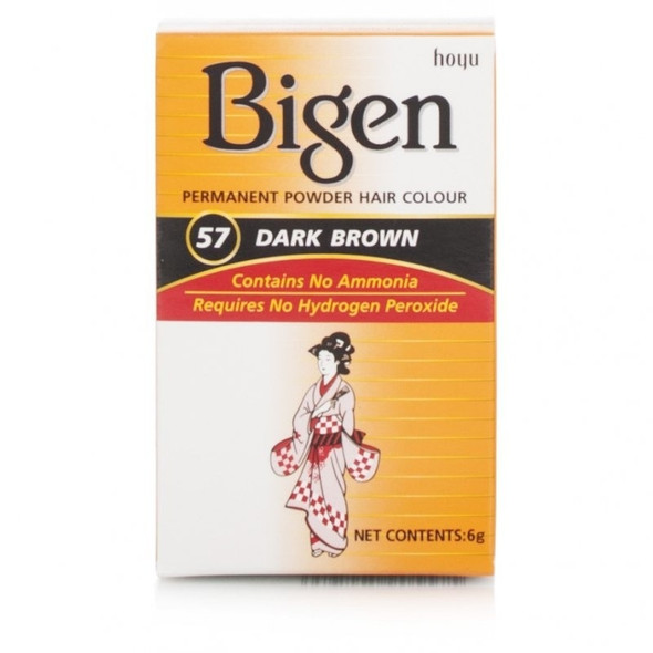 Bigen Dark Brown Hair Colour #57