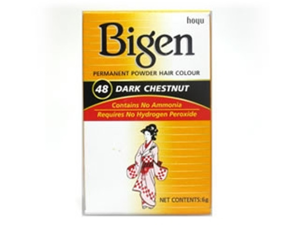 Bigen Dark Chestnut Hair Colour #48