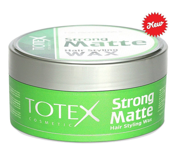 Totex Hair Styling Wax Strong Matte Look 130 ml