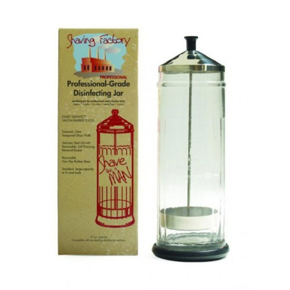 Shaving Factory - Disinfectant Jar