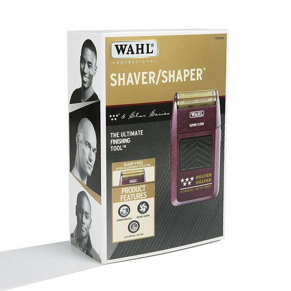 WAHL Professional 8061 FIVE STAR (5 STAR) SHAVER SHAPER ( Included--Two Pin Shaver/Toothbrush Adapter Electric / Three Pin Shaver Adapter PLUG )