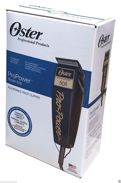 Oster Pro Power 606 Pivot Clipper Adjustable Blade 220Volt Size (0.5)mm to 2.4mm