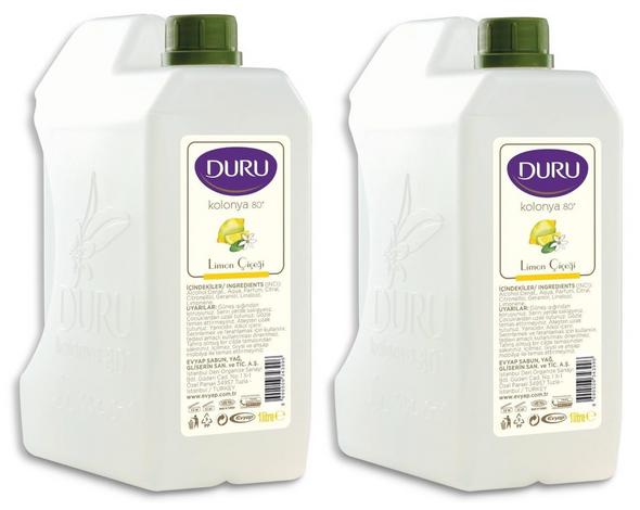 Duru Lemon Cologne 1 Litre-2PCS