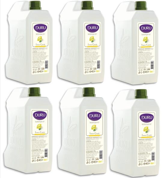 Duru Lemon Cologne 1 Litre- 6PCS