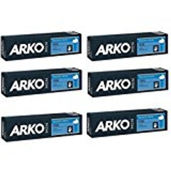 Arko 100g Shaving Cream - Cool (Pack of 6)