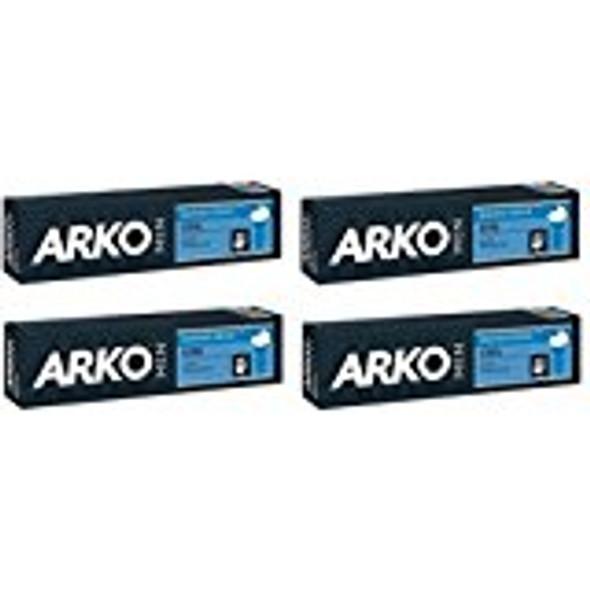 Arko 100g Shaving Cream - Cool (Pack of 4)
