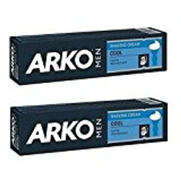 Arko 100g Shaving Cream - Cool (Pack of 2)