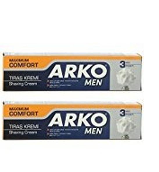 Arko 100g Shaving Cream Maximum Comfort (Pack of 2)