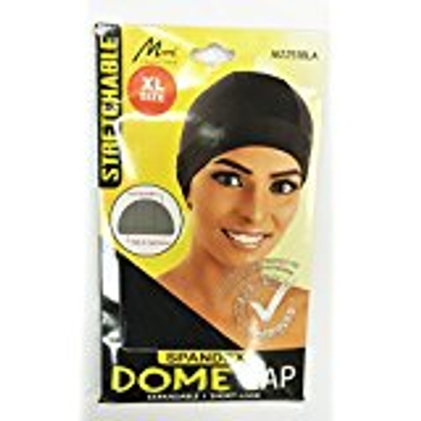 Murry Collection Spandex Dome Cap Breathable / Short-Look XL Style M2251Black