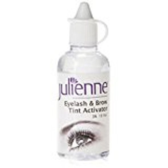 Julienne Eyelash and Eyebrow Tint Activator 2 Percent 10 Volume 50ml
