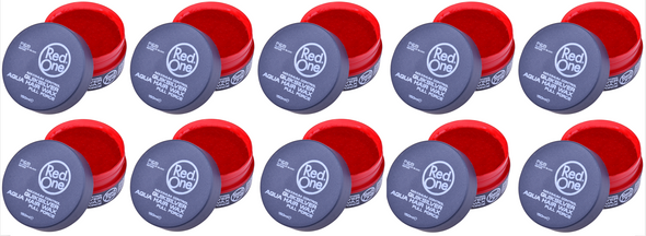 Red One Aqua QuikSilver Hair Styling Wax 150ml (10 PCs Offer)