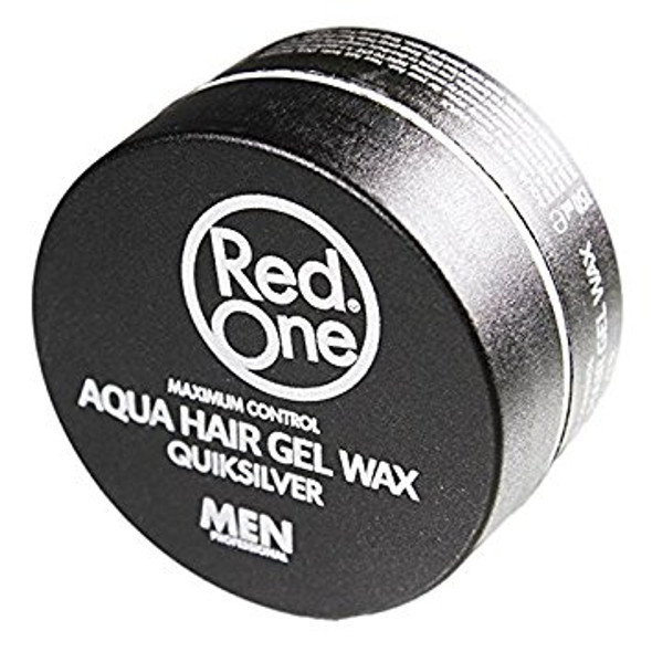 Red One Aqua QuikSilver Hair Styling Wax 150ml