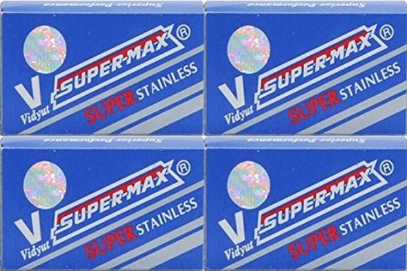 40 Super-Max – Super Stainless Steel Blades