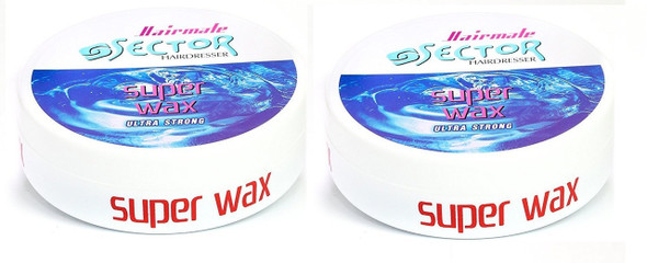 Super Sector Ultra Strong Wax Hair Gum by Sector Hairmate 150ml (2 PCs Offer)