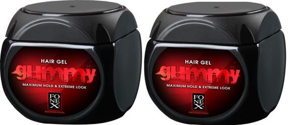 Fonex Gummy Professional Original Hair Gel 700ml (2 Pcs Offer)