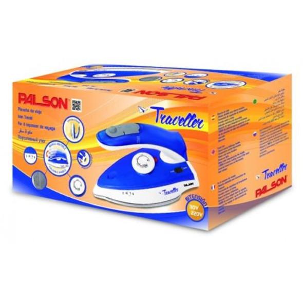 PALSON Travel Iron 1000W Steam & Spray Function- Dual Voltage