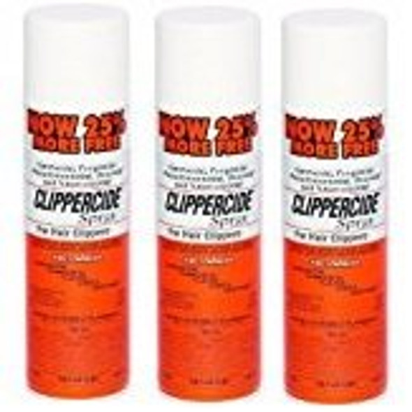 Clippercide Spray for Hair Clippers - 5-in-1 Formula - 425g (3 Pcs Offer)