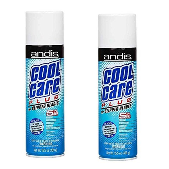 Andis Cool Care Plus Cleaner Spray For Clipper Blades 439 ml (2 Pcs Offer)