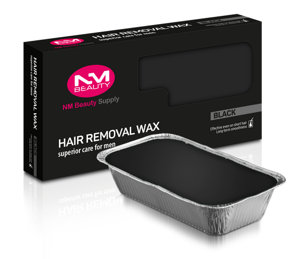 NMB Black Hard Wax Hair Removal Wax For the Professional Barbers and Salons