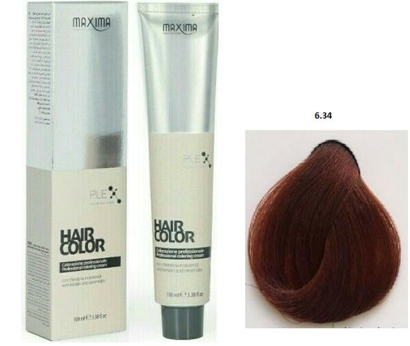 Maxima Vital Hair Colour Cream 6.34 -100ml (2 pcs Offer )