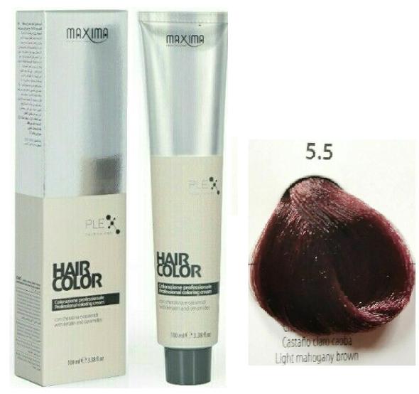 Maxima Vital Hair Colour Cream 5.5-100ml (2 pcs Offer )