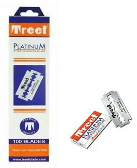 Treet Platinum Double Edge Razor Blades 100 blades