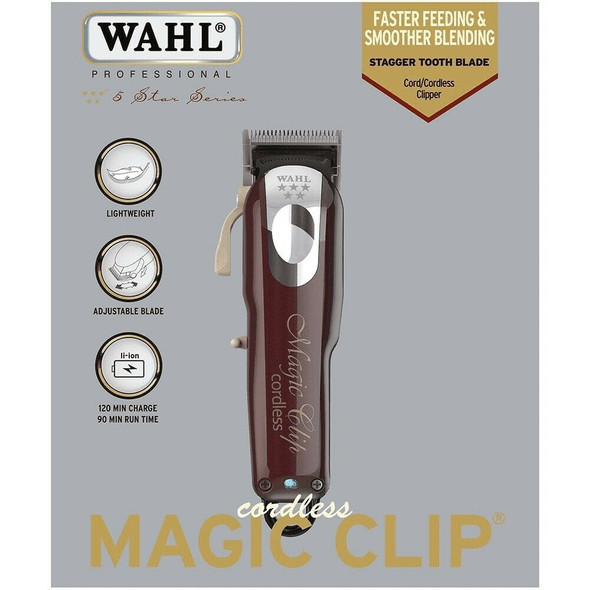 Wahl 8148 Cordless Magic Clip Hair Trimmer