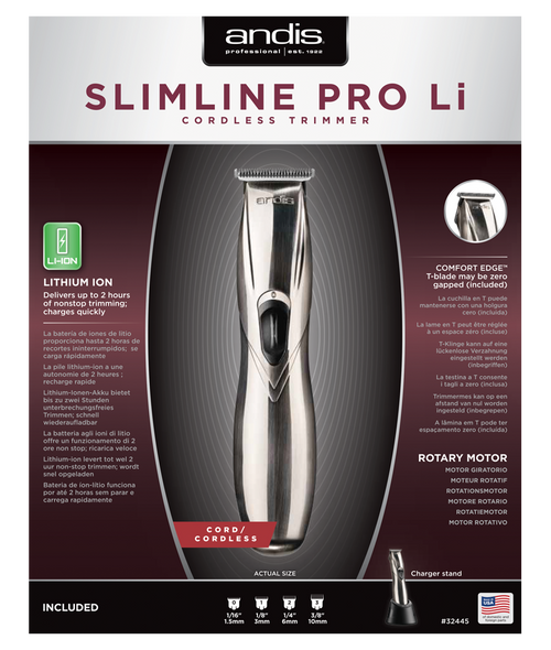Andis AS32445 Slimline Cordless Trimmer