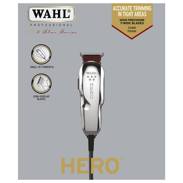 WAHL HERO 5 SERIES PROFESSIONAL CORDED TRIMMER