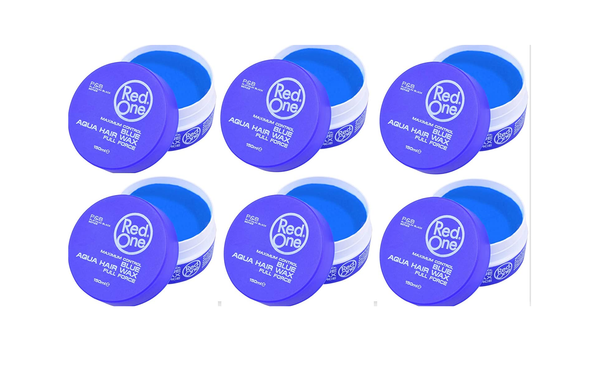 Red One Blue Matte Hair Wax 150ml (6 PCS)