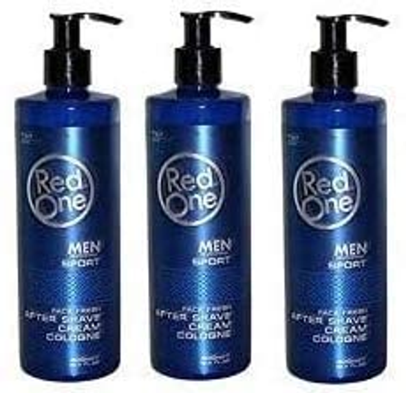 Red One After Shave Sport Cologne (3 pcs offer)