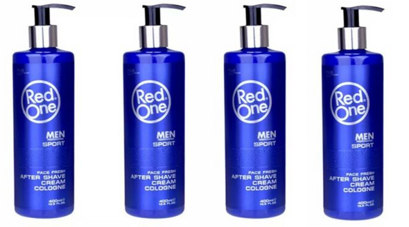 Red One After Shave Sport Cologne (4 pcs offer)