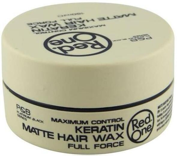 RED ONE AQUA HAIR GEL WAX 150ML FULL FORCE MAXIMUM CONTROL-KERATIN