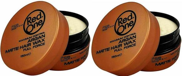RED ONE AQUA HAIR GEL WAX 150ML -ARGAN (2 pcs )