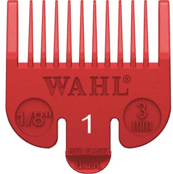 Wahl Attachment Comb - No. 1 (Coloured)