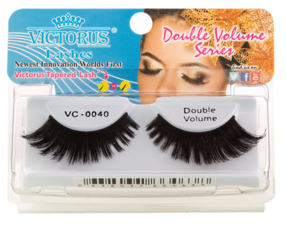 VC-0040 BLACK DOUBLE VOLUME Strips Lashes