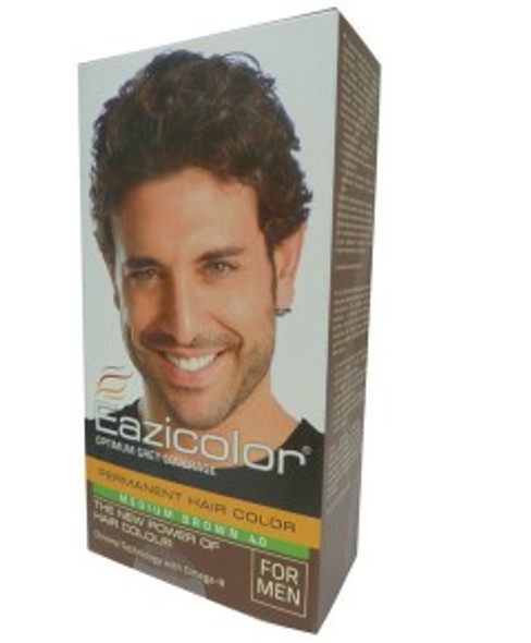 Eazicolor Permanent Hair Color Medium Brown 4.0
