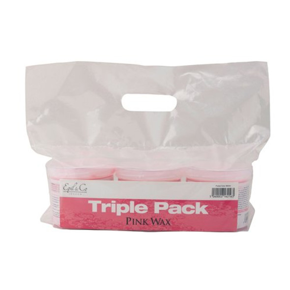 EPIL & CO PINK WAX 425G TRIPLE PACK
