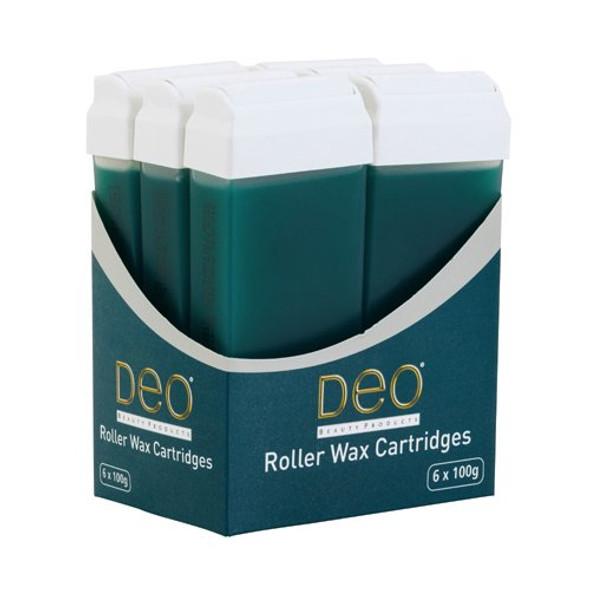 DEO ROLLER WAX CARTRIDGE 100ML – TEA TREE Pack OF 3 Pcs