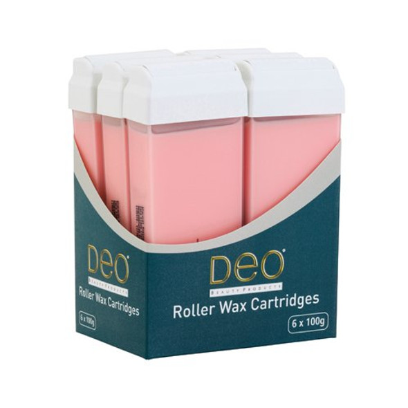 DEO ROLLER WAX CARTRIDGE 100ML – PINK Pack OF 3 Pcs