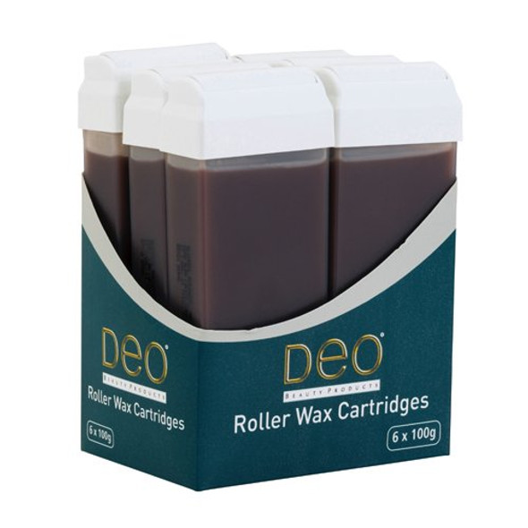 DEO ROLLER WAX CARTRIDGE 100ML – CHOCOLATE Pack Of 3Pcs