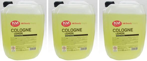 NMB Professional Traditional Turkish lemon cologne barber 5 litre||5000ml||3 PCS OFFER